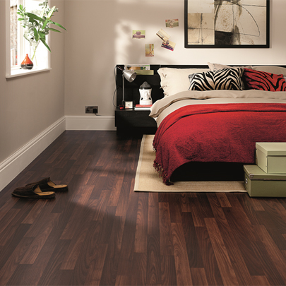 Polyflor Flexible Floor Tiles/Sheets: residential and commercial bedroom