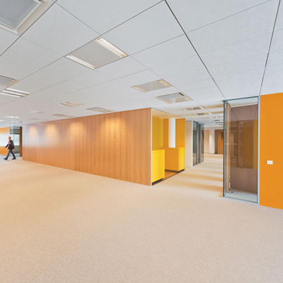 Hunter Douglas  Techstyle ceiling panel Netherlands' Defence Ministry