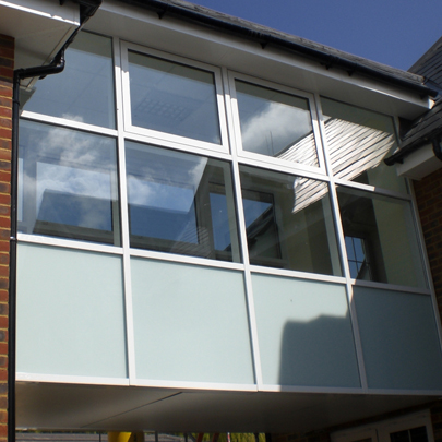Axis Windows, Doors and Curtain Walling at The Coombes School