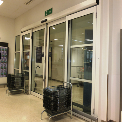 Axis Automatic Entrance Systems doors Waitrose Food & Home