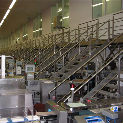 Cleanroom Gantry Staircase