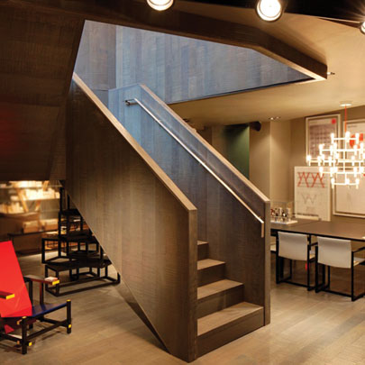 Cassina London Showroom Staircase
