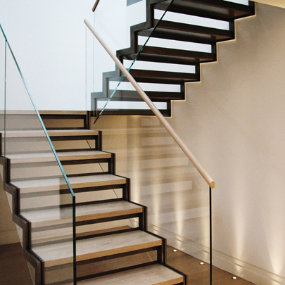Contemporary Steel Structure Staircase