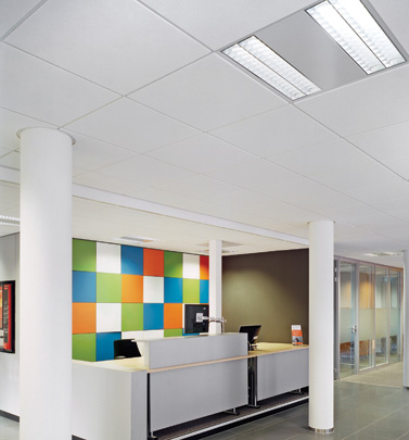 An Armstrong Ceiling Tile Wins Silver Cradle to Cradle® Certification