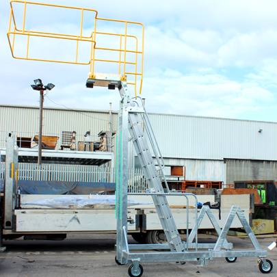 Righthite Mobile Counterbalance Step Unit