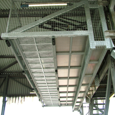 Safe High Level Gantry