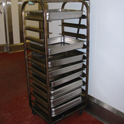 racking trays