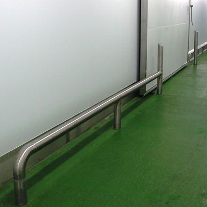 stainless steel bump rail