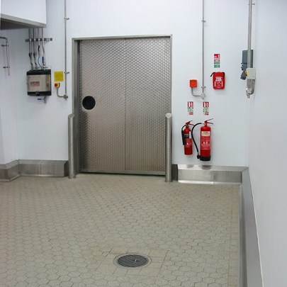 stainless steel hygienic installation
