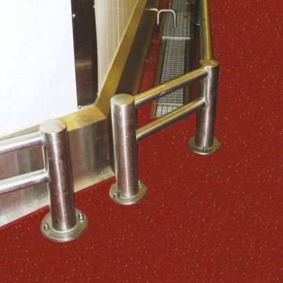 stainless steel plate fixed bump rail