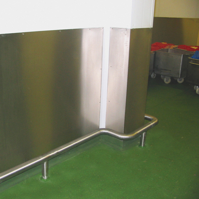 stainless steel smooth wall cladding