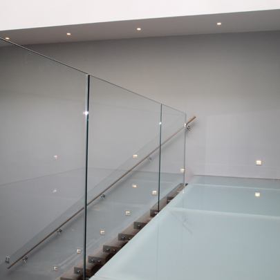 interior glass bridge