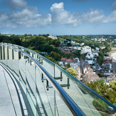 jersey glass balustrade