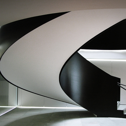 jersey helical staircase commercial