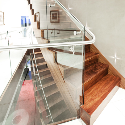 jersey interior staircase balustrade