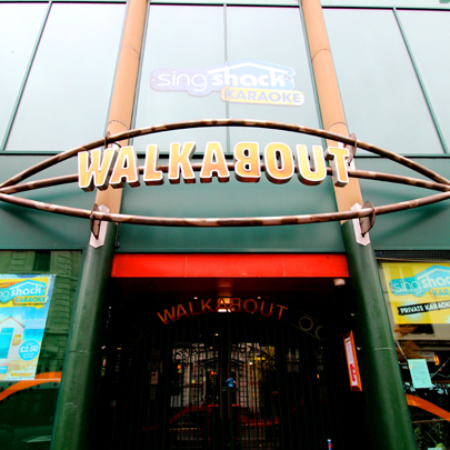 walkabout nottingham sign