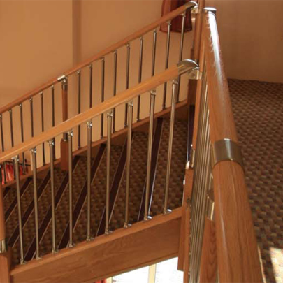 Richard Burbidge Stair Balustrade Lion Quays Country Club and Spa
