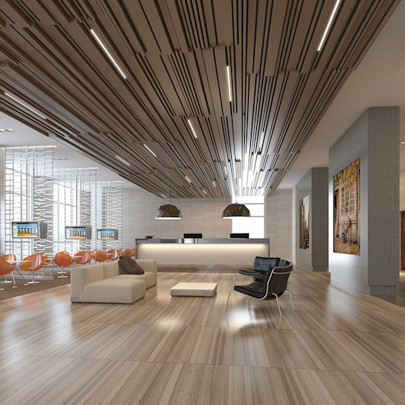 Acoustic Ceiling Panels Preserve Performance Of Thermally