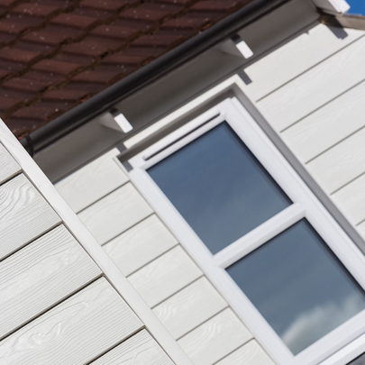 Marley Eternit Cedral Weatherboard family home West Malling, Kent