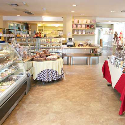 Expona Control PUR colour Cambrian Stone in the newly renovated Slattery patisserie