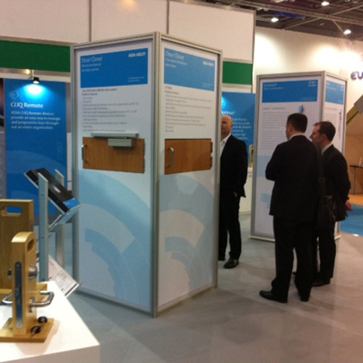 ASSA Abloy Security Solutions Ecobuild 2014