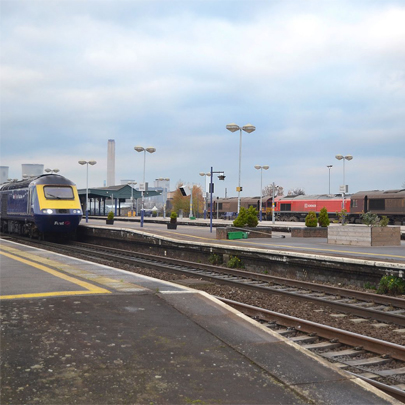 ACO StormBrixx Didcot Parkway Station