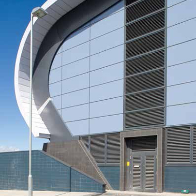 RENSON Continuous Louvres