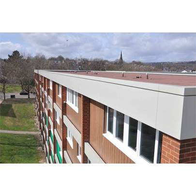 Integrated aluminium products for Sheffield Homes refurbishment