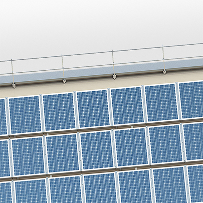 Helial Integration complete roof system incorporating photovoltaic modules