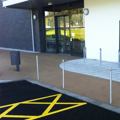 External furniture and cycle shelters for Carillion Tameside phase 2 BSF schemes