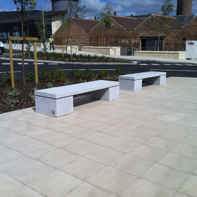 External furniture Swadlincote retail park