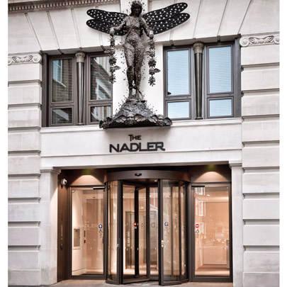 GEZE turns heads at the Nadler Soho Hotel