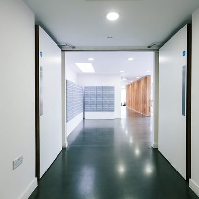 Fire doors for London student accommodation