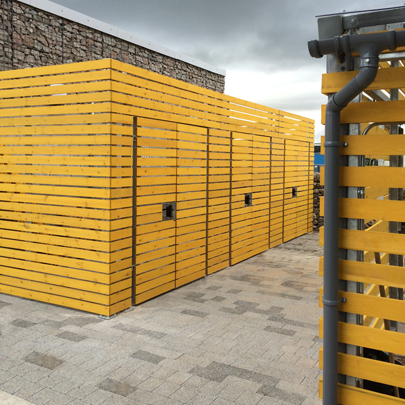 Cycle storage unit Kingswell Business Park