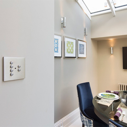 Decorative electrical wiring accessories for Belgravia residential development
