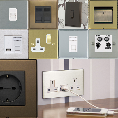 Hamilton Litestat designer and bespoke switch plates and sockets