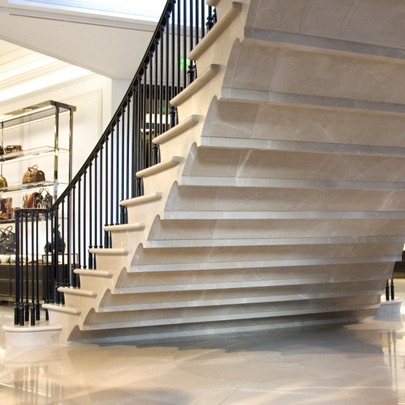 Staircase at Burberry