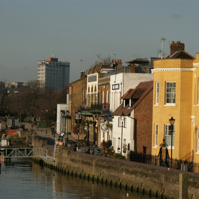 Riverside basements in Hammersmith, London