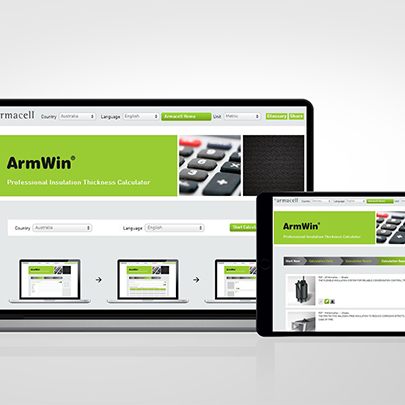 ArmWin insulation calculator