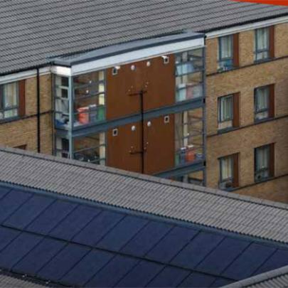 Redland Solar Pv Panels For Brunel University