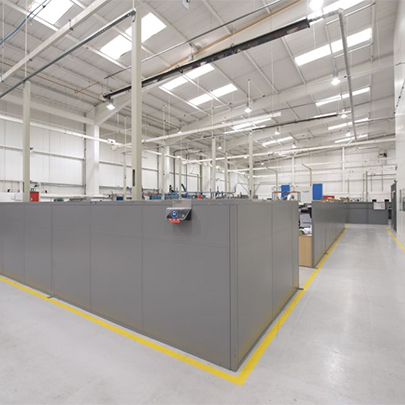 Anchorwall Steel Partitioning