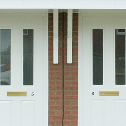 Thermoplastic doors