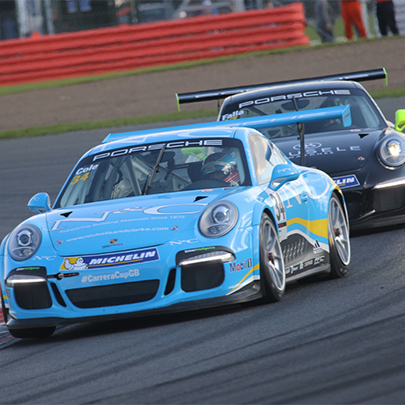 N&C Carrera Cup GB Race Car