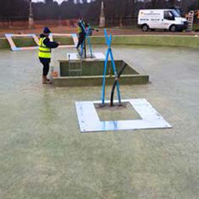 Waterproofing A Water Feature, Hertfordshire