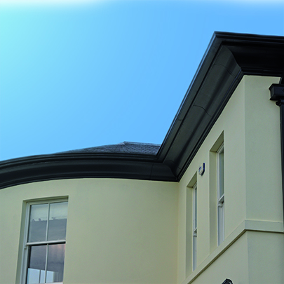 Aluminium Guttering & Downpipes - Rainwater drainage systems