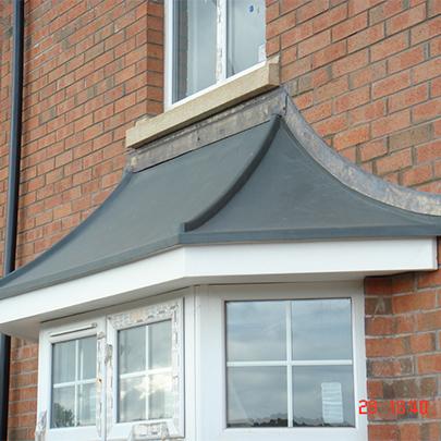 Flat Porch Canopy
