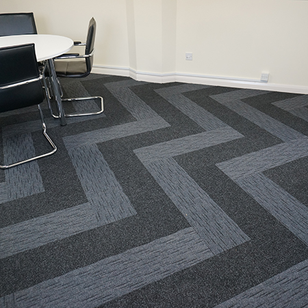 4d contract flooring gets creative with carpet planks for Contract flooring