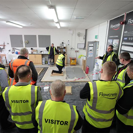 Flowcrete UK's Product Launch - Flowfresh HF LT