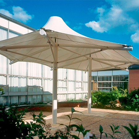 Predesigned Tensile Canopies