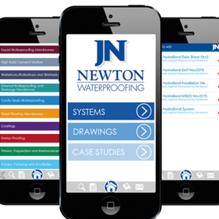 The Newton Waterproofing App